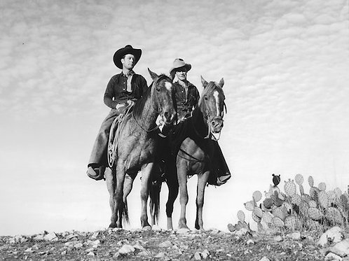 Catalina Cowboys Vintage Photo No. 005