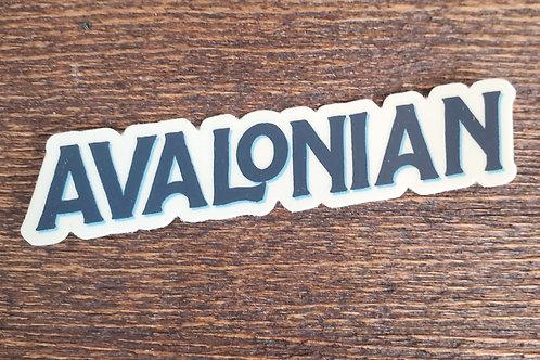 Avalonian Sticker