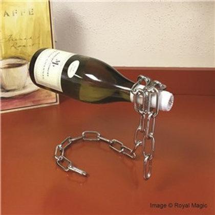 """Chain Suspension"" Magic Wine Bottle Holder"