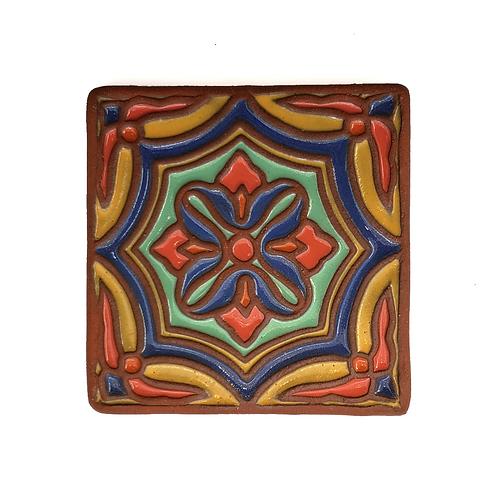 Topanga Octo Yellow Tile