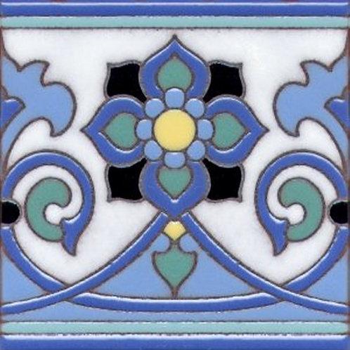 6x6 Esprit Deco Gloss Catalina Blue Tile