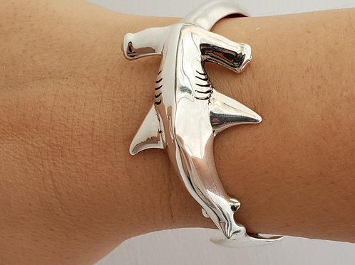 Hammerhead Shark Cuff Bracelet