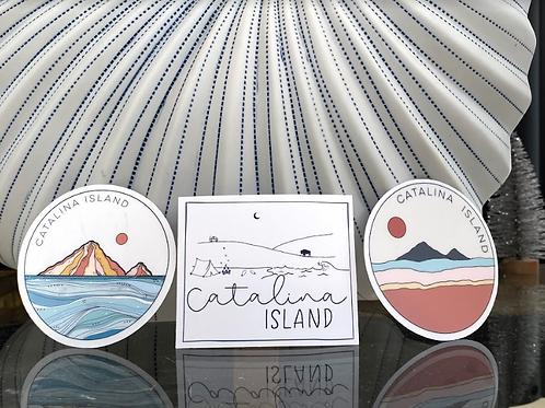 Catalina Island Stickers