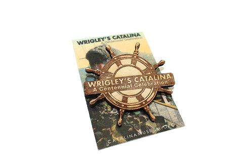 Wrigley Centennial Wooden Pin