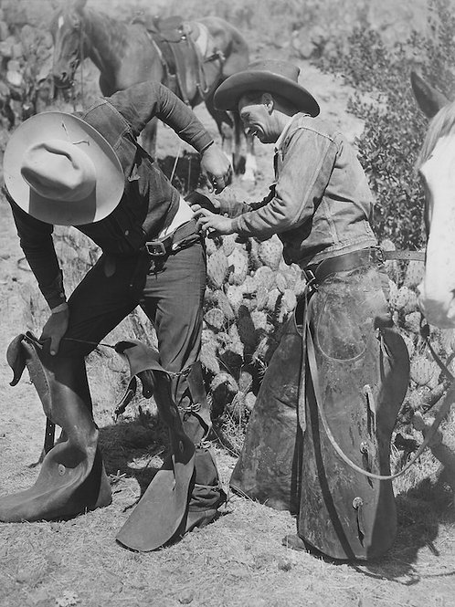 Catalina Cowboys Vintage Photo No. 003
