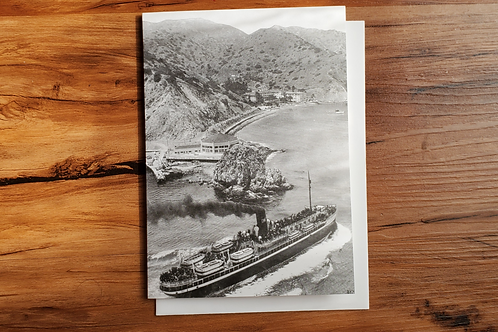SS Avalon & Sugarloaf Casino Single Notecard