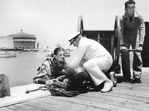 Diving Vintage Photo: No. 007