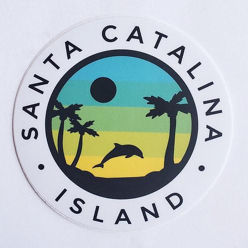 Catalina Dolphin Sticker