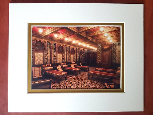 Turkish Bath Matted Print