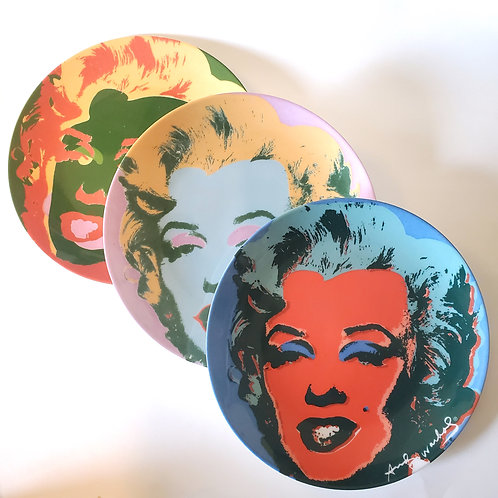 Vintage 90s Marilyn Monroe Plate