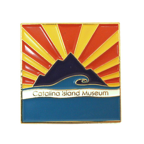 Catalina Island Museum Enamel Pin