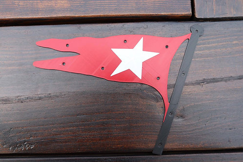 White Star Line Flag Lifeboat Plaque