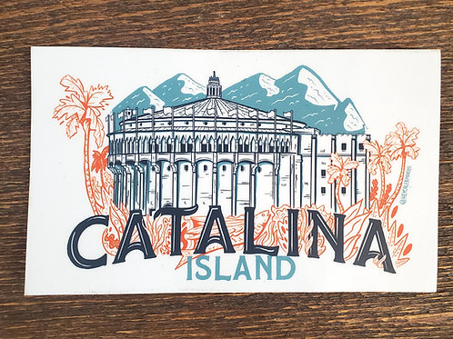 Catalina Island Casino Sticker