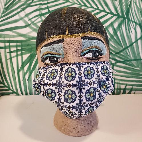 Lotus Tile Face Mask