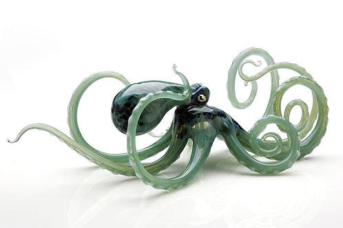 Large Octopus in Seafoam