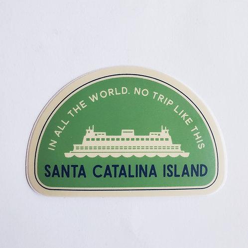Ferry No Trip Like This Sticker