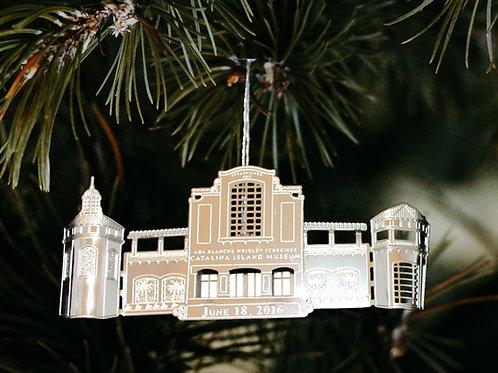 3-D Catalina Island Museum Ornament