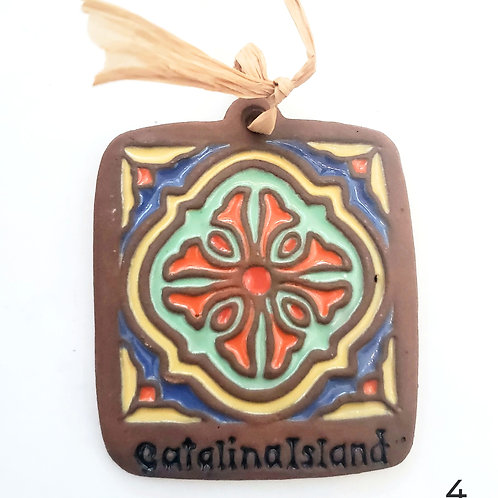 Tile Ornament: Keyhole