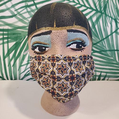 Pinwheel Tile Face Mask
