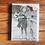 Thumbnail: Girl Holding Flying Fish Notecard Set