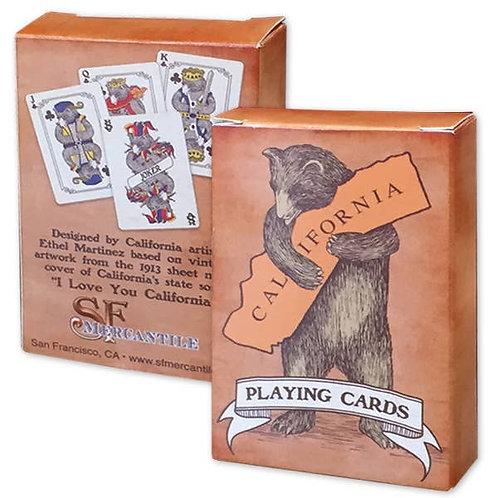 Bear Hug Playing Cards