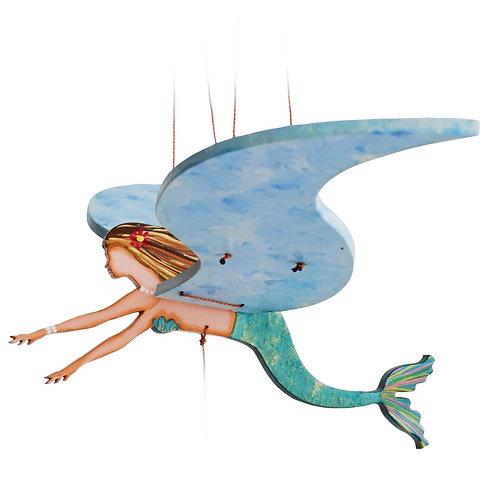 Flying Mermaid Mobile