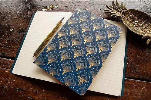 Peacock Neo Deco Notebook