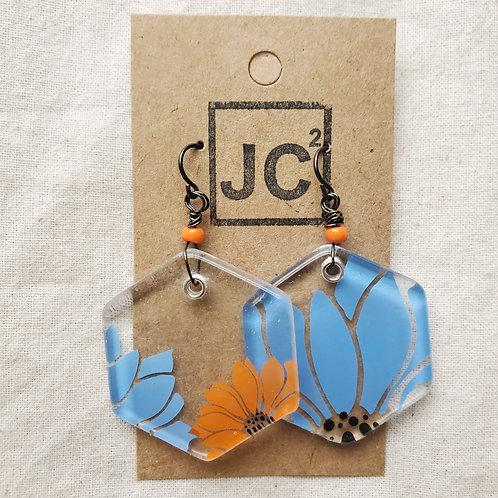 JC² Glass Art Earrings No. 3