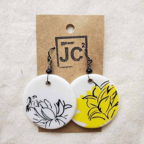 JC² Glass Art Earrings No. 5