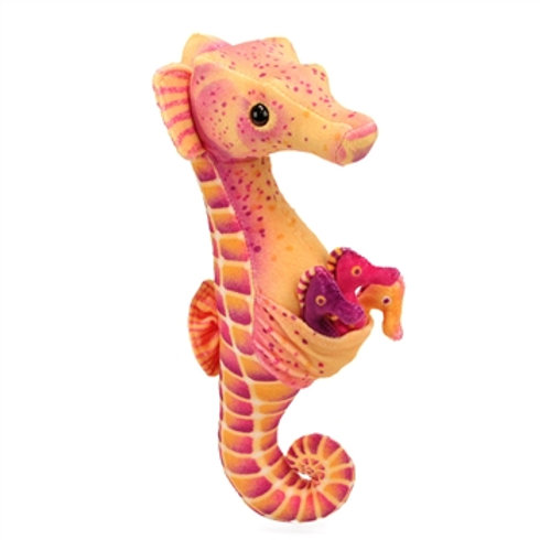Seahorse Dad with Babies Plush
