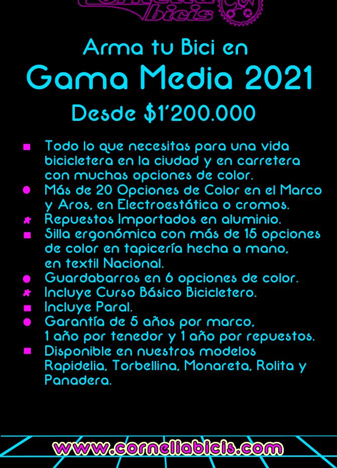 Plantilla Gama Media 2021