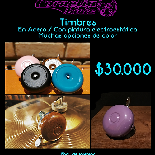 Timbres Ring Ring en Colores