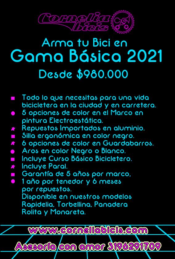 Plantilla Gama Basica 2021