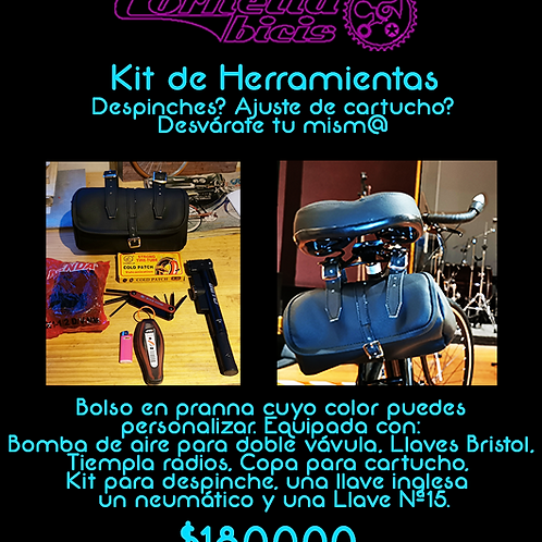 Kit deMecánica Básica para Bicicleta