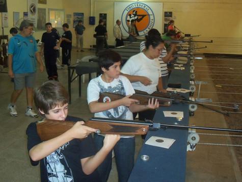 Inicio sus actividades la Escuela de tiro