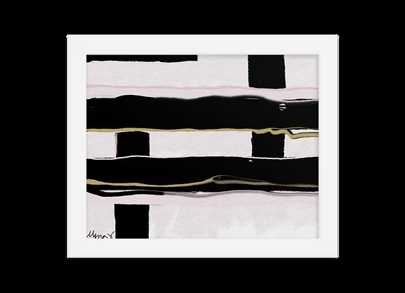 """""""Velvet"""" 00.8 Framed Poster"""