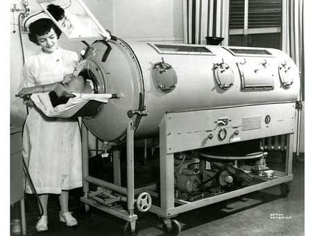 What was it like to live in an Iron Lung and how Polio epidemic in 1950's resembles COVID-19?