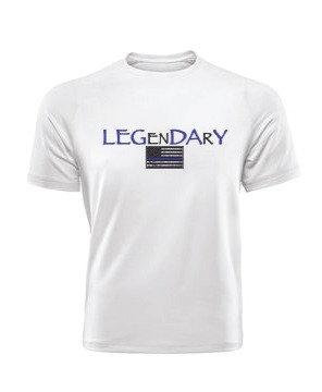 LEGenDArY Day Blue Line T-Shirt