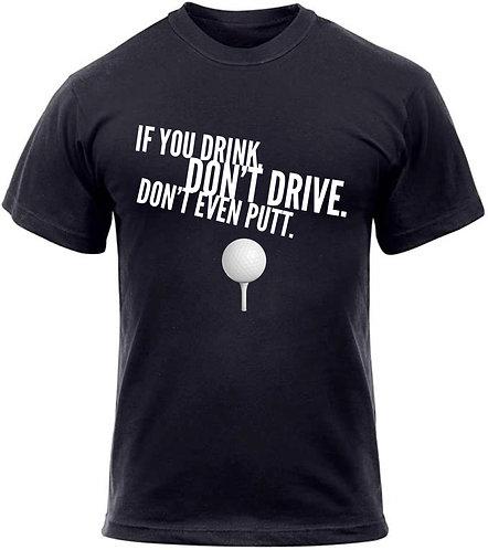 Don't Drink & Golf