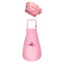 Pink CC Apron