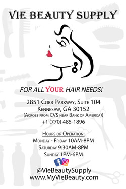 Vie Beauty Supply Flyer Kennesaw