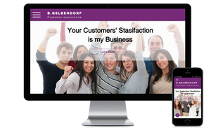 אתר וויקס חדש לבני גלבנדורף - מומחה חווית לקוח