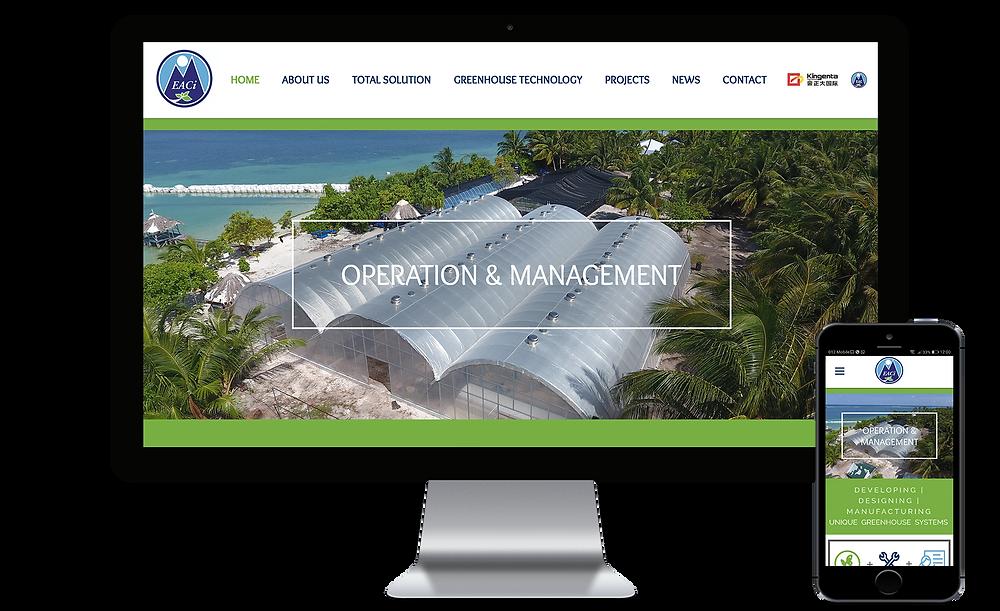 אתר של חברת EACI