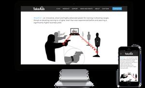 אתר של חברת TakeAim