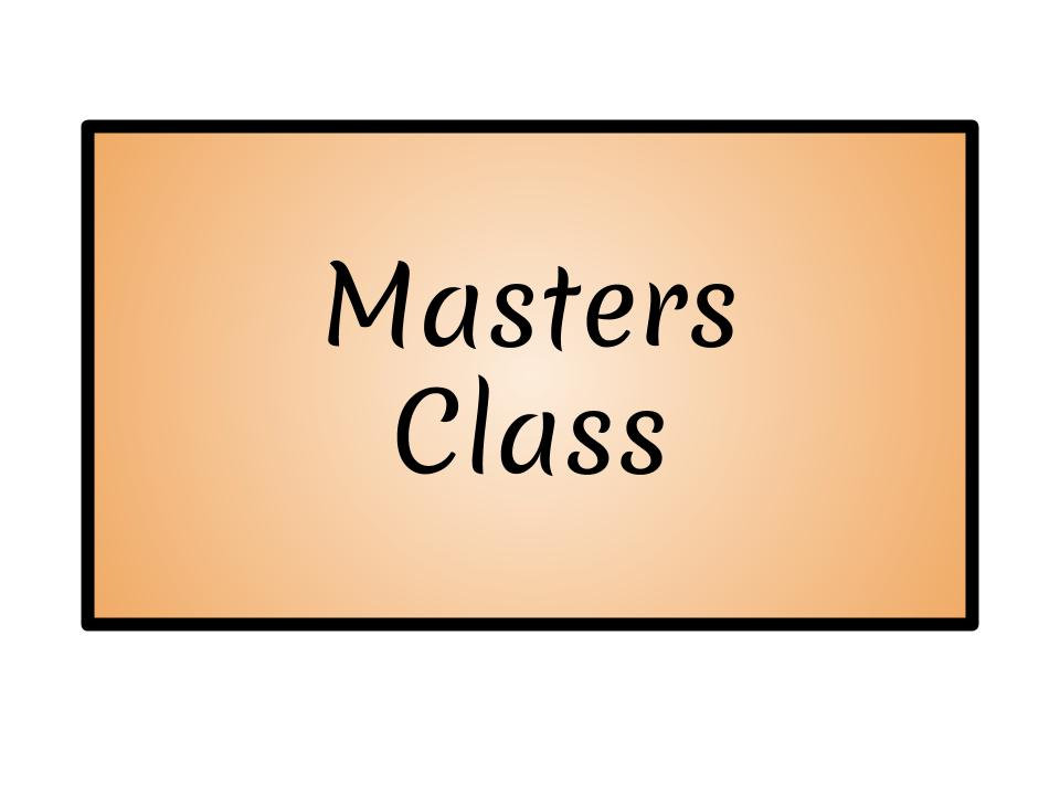 Masters Only Class