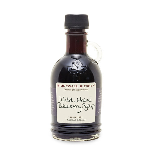 Wild Maine Blueberry Syrup