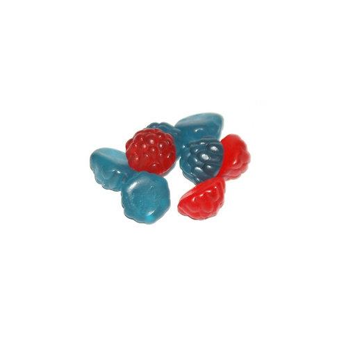 Red & Blue Gummy Raspberries