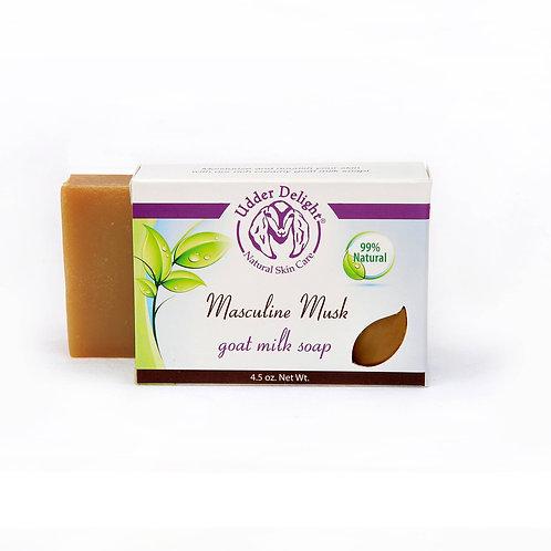 Masculine Musk Soap