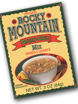 Rocky Mountain Green Chili- Colorado Specialty Spice CO