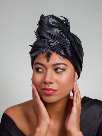 turban black lambsnappa
